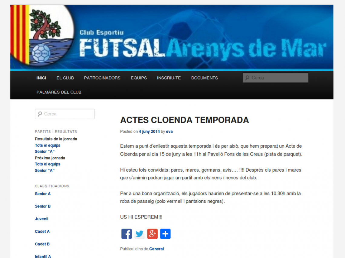 Futsal Arenys de Mar